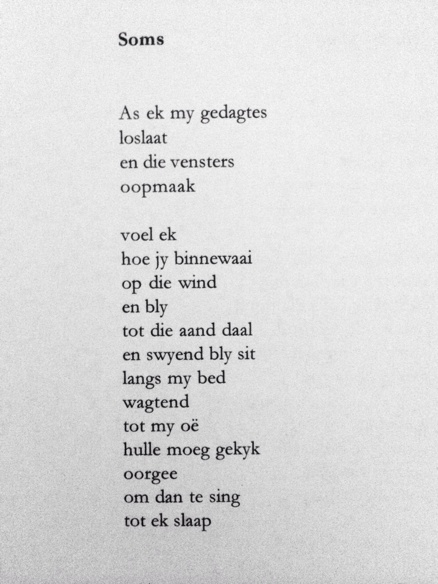 Stef Bos Poetry Afrikaans Quotes Afrikaanse Quotes Afrikaans