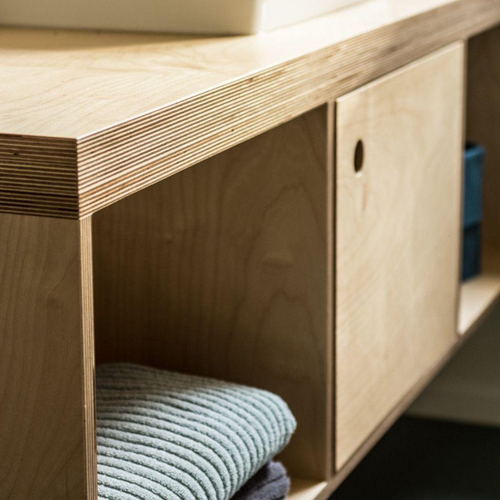 open plywood vanity | vanities | make furniture | bathroom
