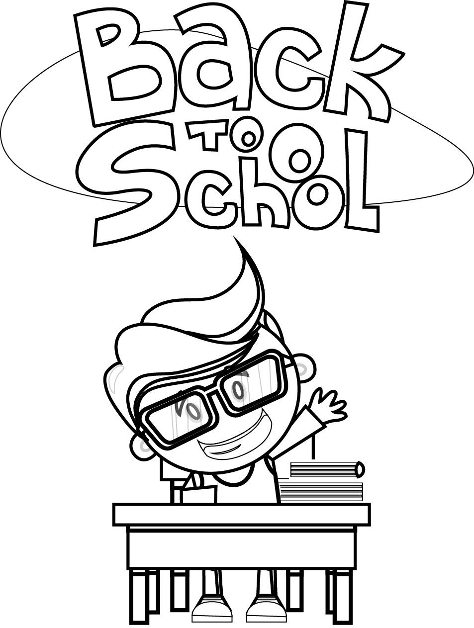 Student Coloring Pages Students