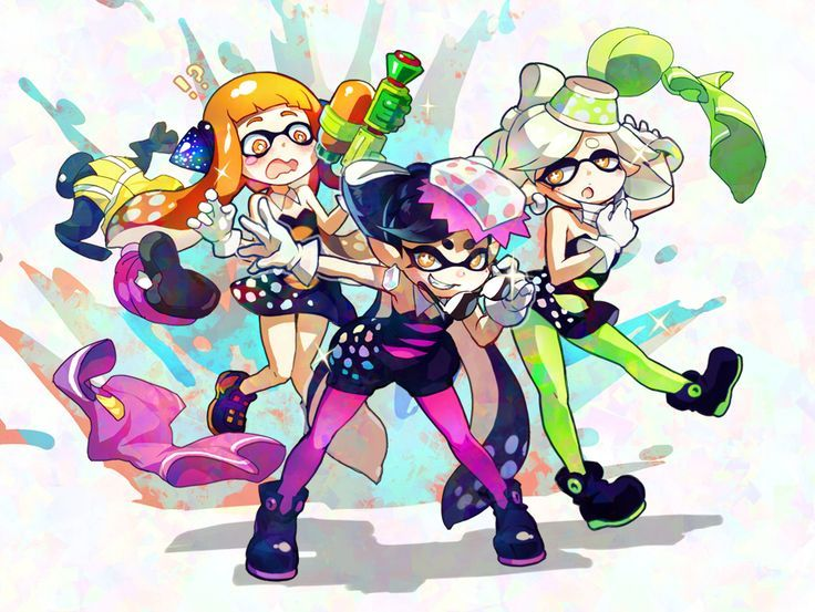 Image Result For Splatoon 2 Inkling Hairstyles Girl Splatoon Stuff