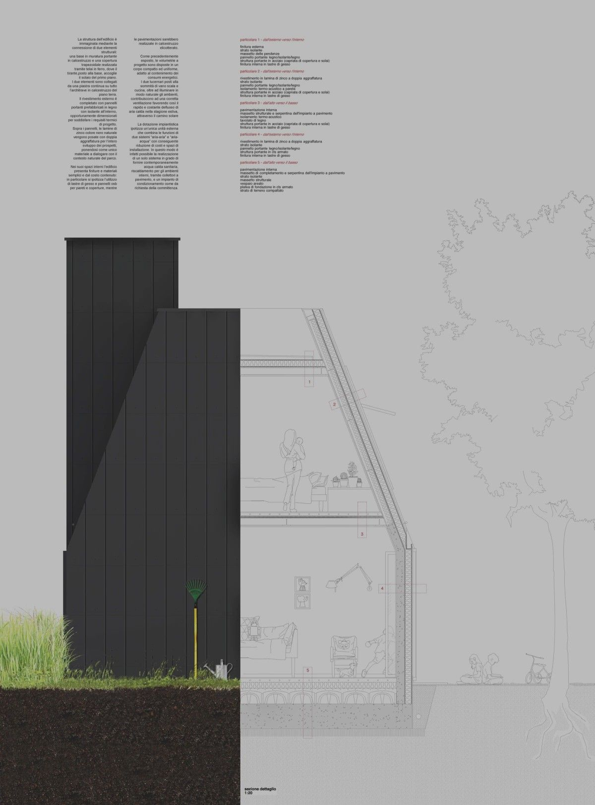 Struttura Di Un Solaio pin by juven zhu on archi-presentation | bar chart