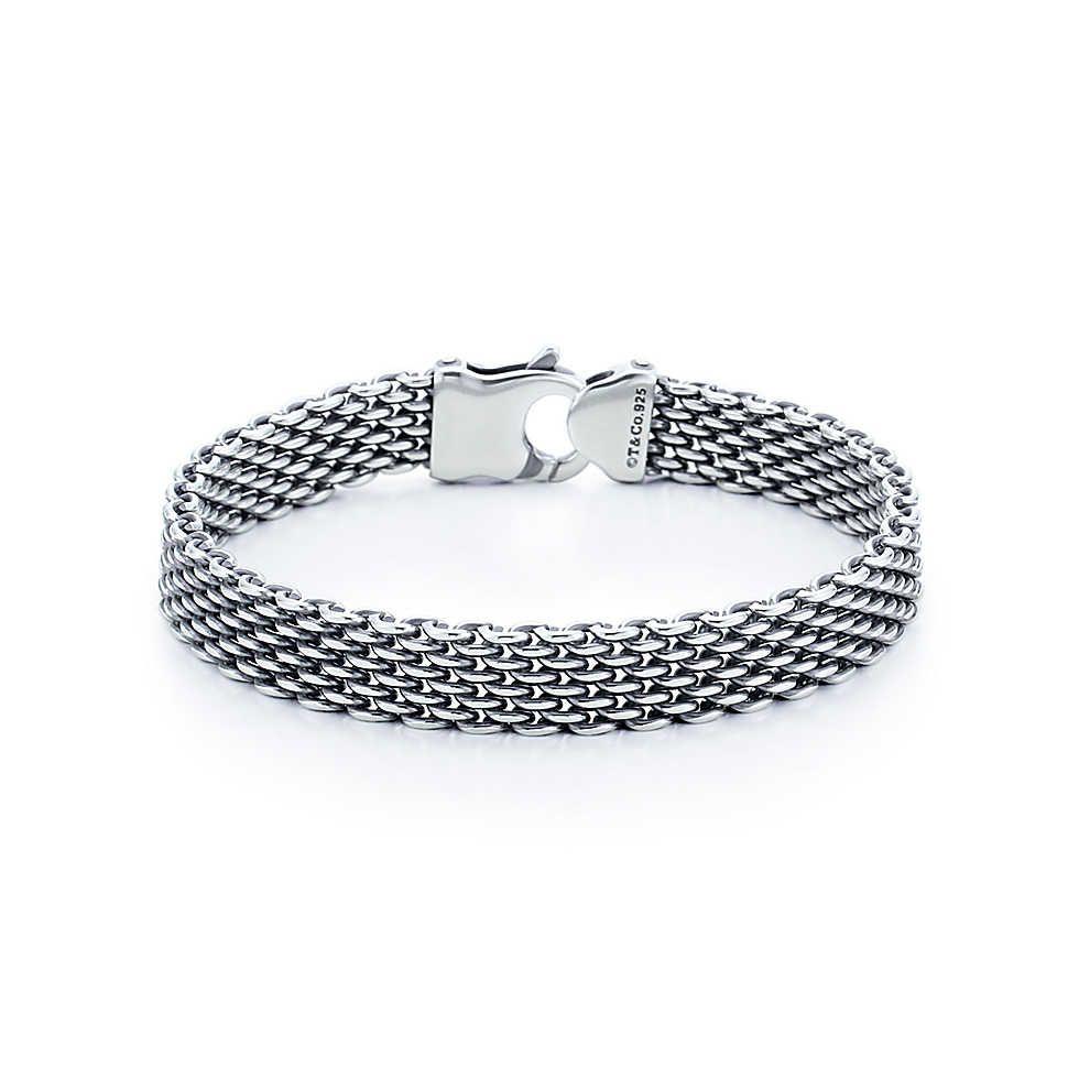 Tiffany Somerset Bracelet Oxidized Sterling Silver