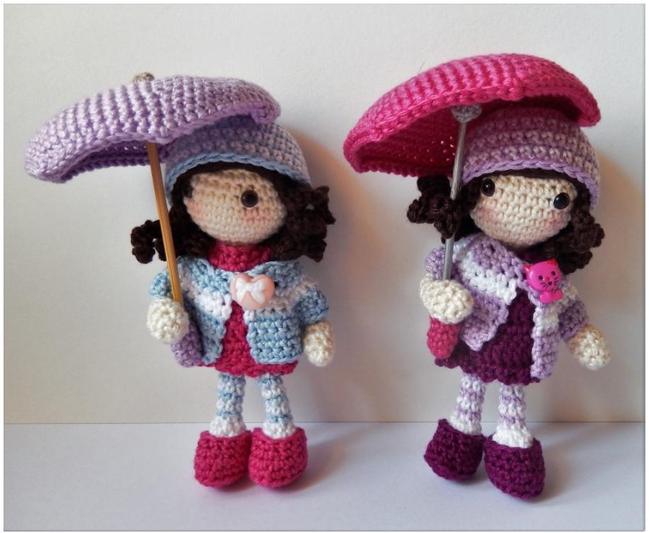 Patrón amigurumi gratis de muñecas de otoño. Espero que os guste ...