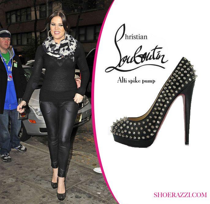 Khloe Kardashian in Christian Louboutin \