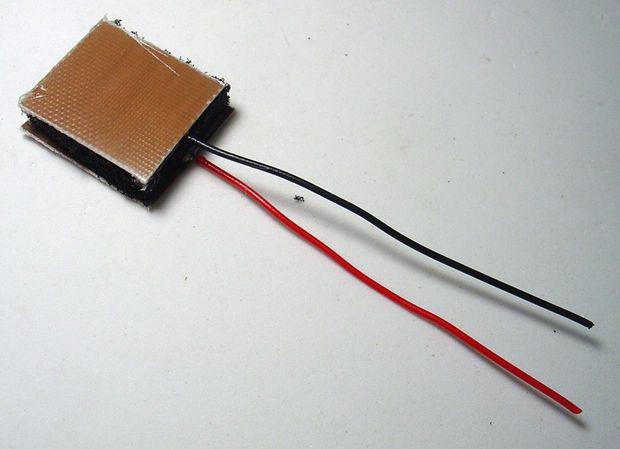 Picture of DIY Force Sensitive Resistor (FSR)   Electronic circuit ...