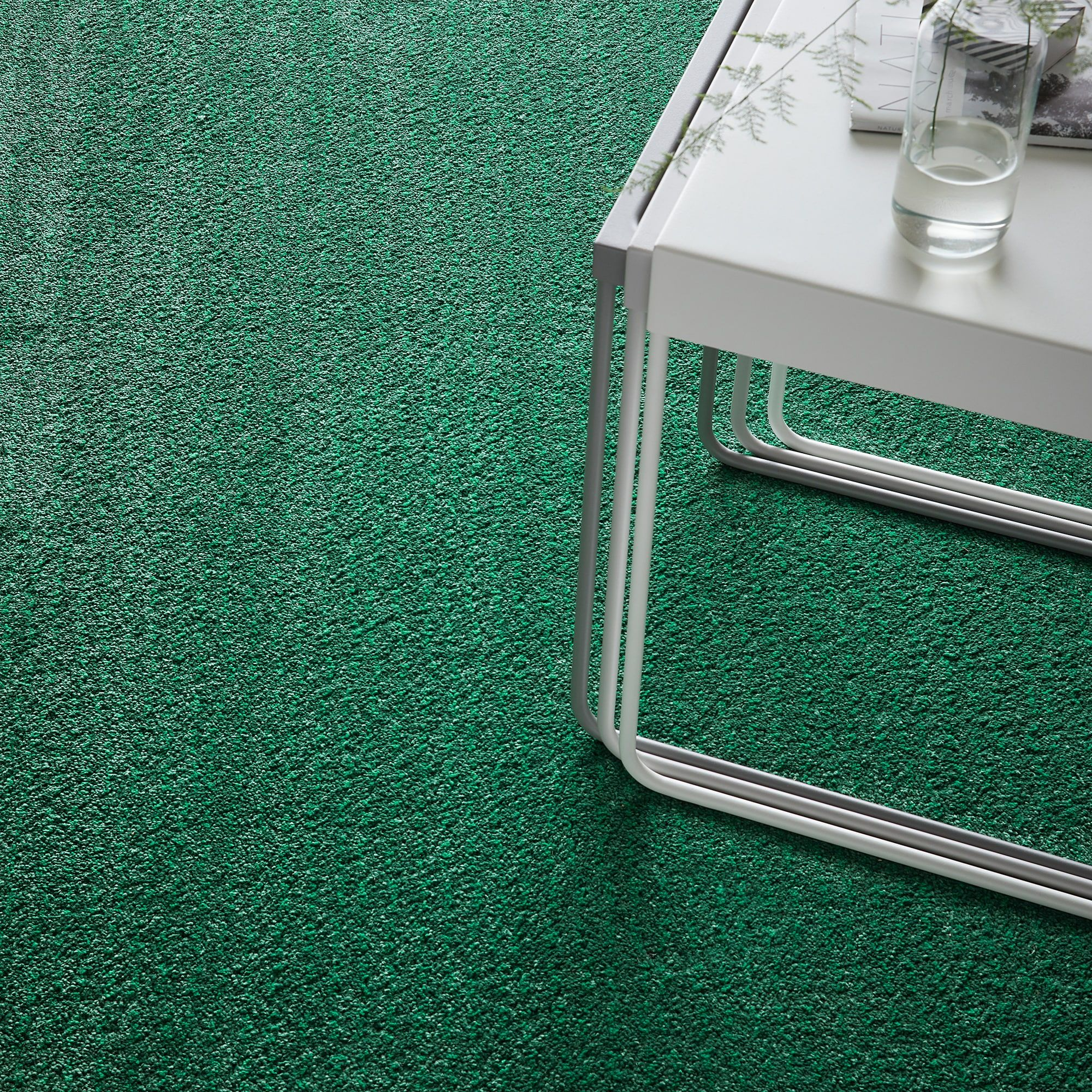 ikea  langsted rug low pile green in 2019  rugs ikea