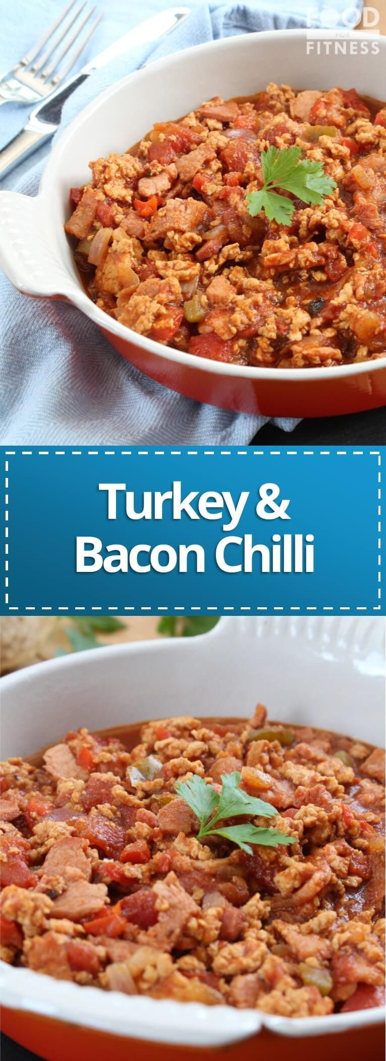 Bacon & Turkey Chilli | Recipe | Turkey chilli, Turkey ...