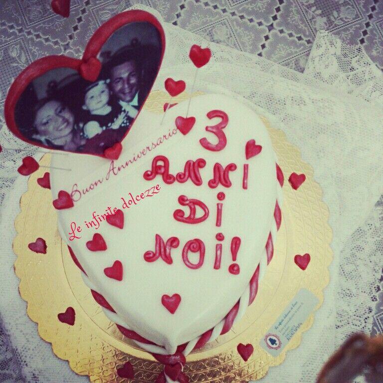 Torta Anniversario Torte Dolci Anniversario