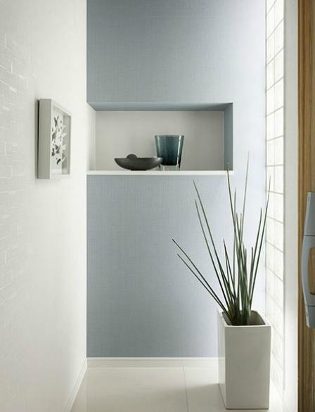 アクセントクロスブルー interior pinterest interiors walls and
