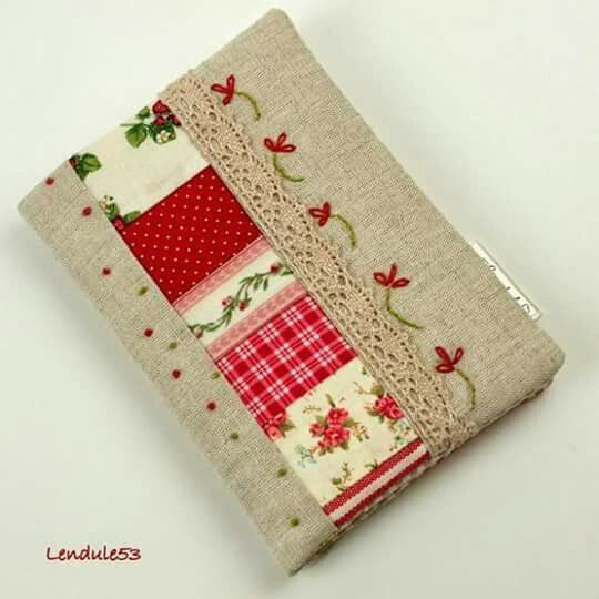 Book Cover Sewing Expo : Capa livro ou agenda sewing fun pinterest patchwork