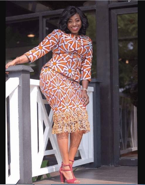 2355af40ec86e 24 Gorgeous Kitenge Dresses for Plus Size Women | Plus size Outfit ...