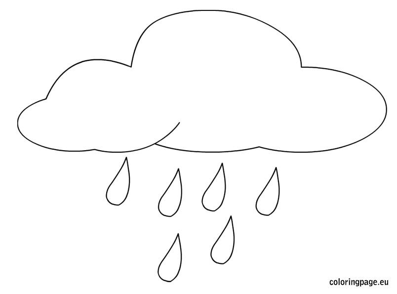rain coloring pages - rain coloring page omalov nky a ablony pinterest