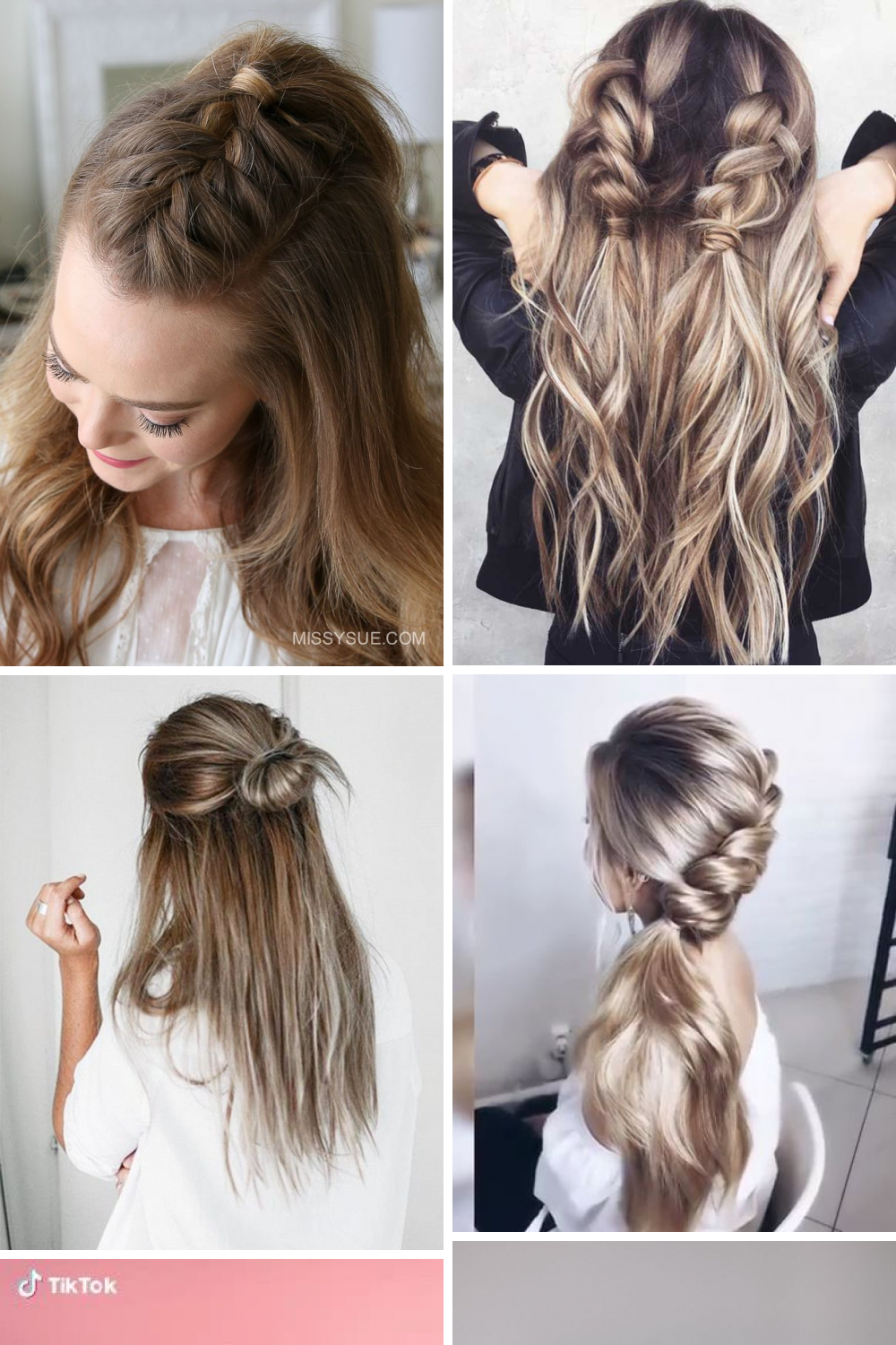 21 Modern Easy Hairstyles Ideas You Will Fall In Love Easy Hairstyles Hair Styles Easy College Hairstyles