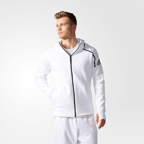 adidas Z.N.E. Hoodie Mens Clothing White