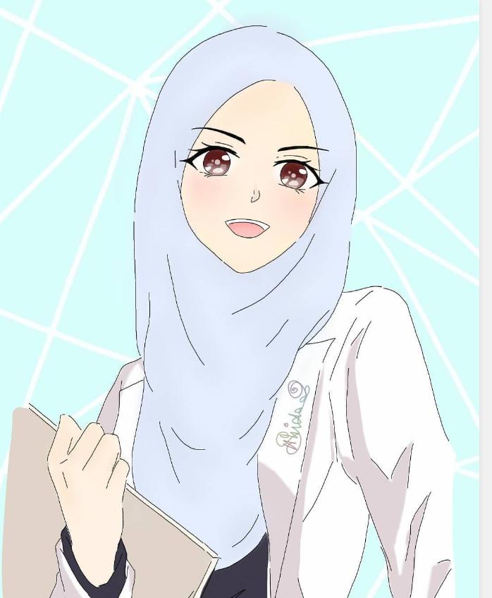 Pin Oleh Sarah Eldakak Di Hijab Kartun Kartun Animasi Wallpaper Ponsel