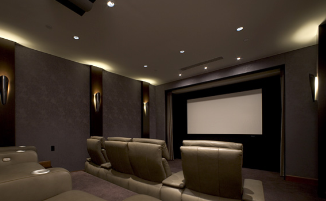 Home Theater Lighting Design Home Movie Theater Set Up  Google Search  Movie Room  Pinterest .