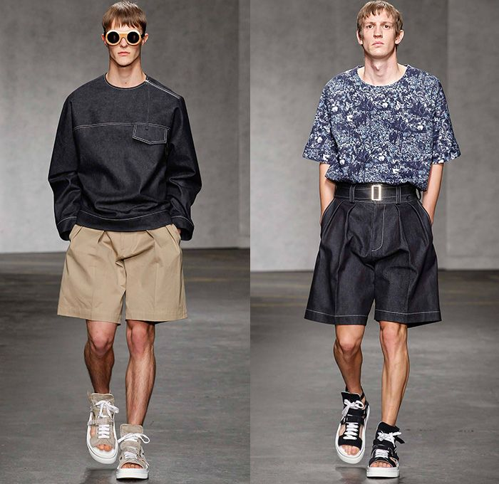 E. Tautz 2015 Spring Summer Mens Runway Looks - London Collections ...