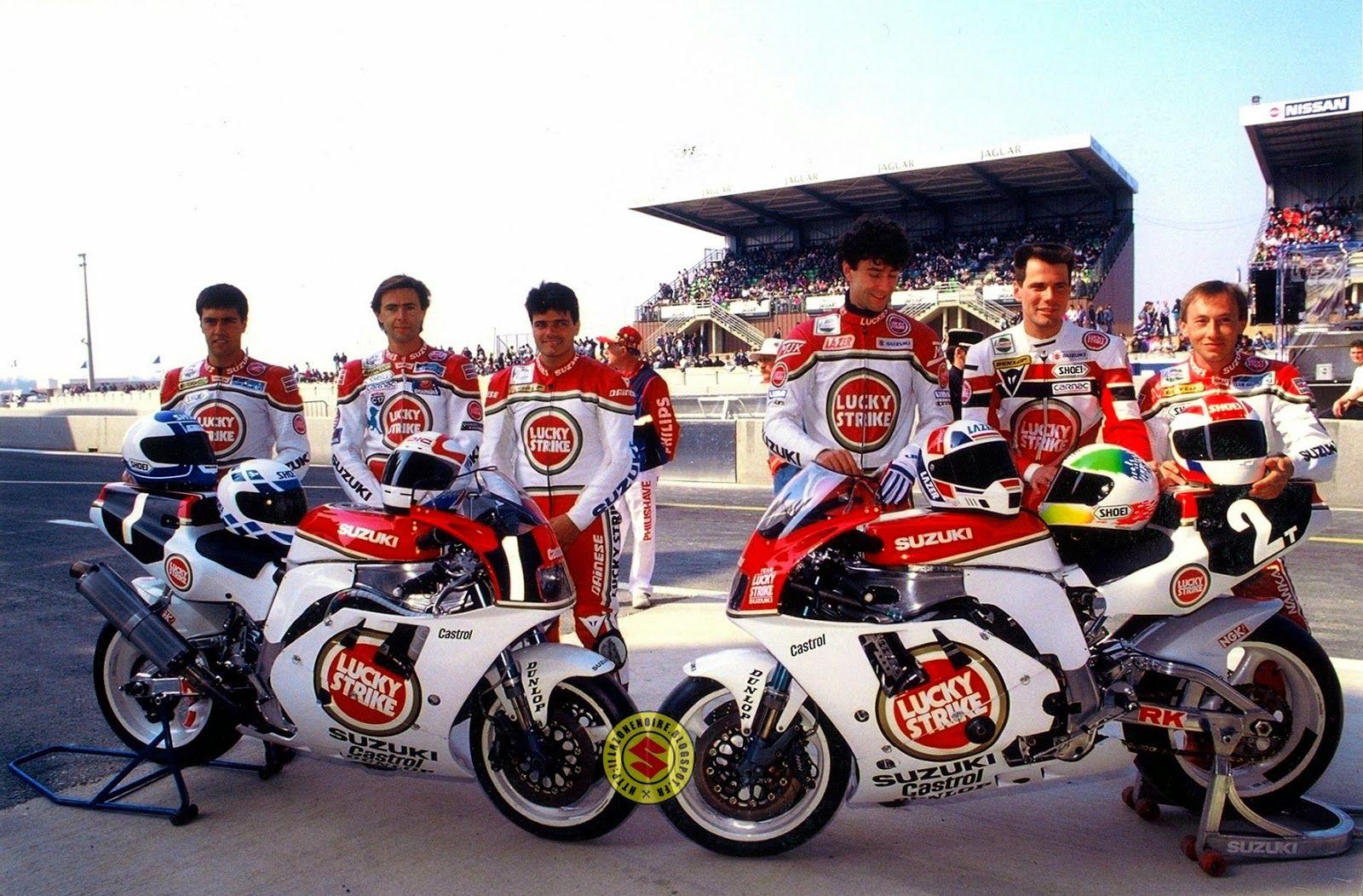 Suzuki GSX-R 750 / Team SERT Lucky Strike / 24h Le mans '91