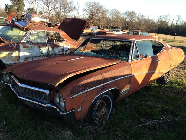 1968 Buick Skylark Buick Skylark Buick Abandoned Cars