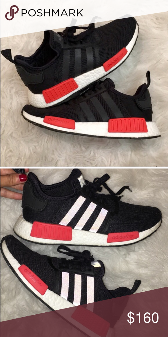 3774f5a91 Adidas NMD Women s adidas NMD. Size 7. Great condition. Worn once. No  trades Adidas Shoes Athletic Shoes