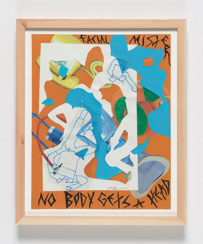 Pieter SchoolwerthNo Body Gets a Head #00, 2015 19″ x 15″