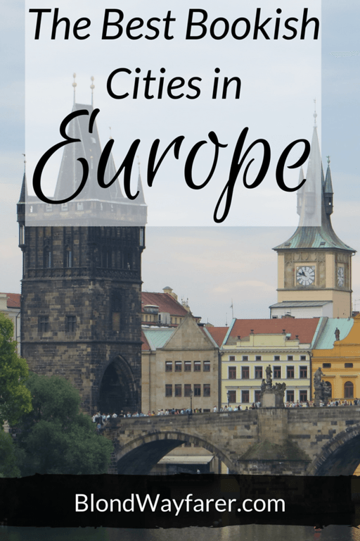 The Best Bookish Cities in Europe | Literary Travel ✈ | Europe