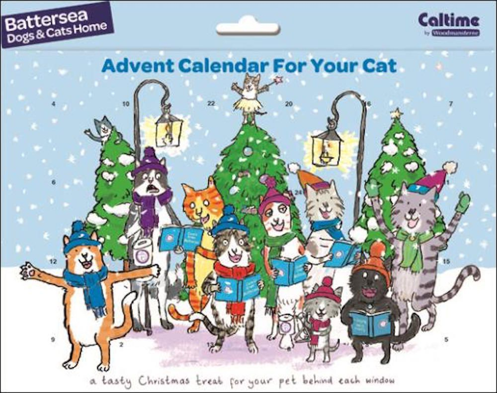 BATTERSEA CATS & DOGS HOME ADVENT CALENDAR FOR THE CAT