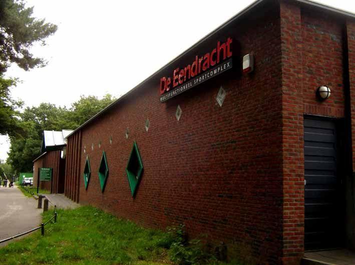 Sportcomplex de Eendracht van NEC naast het stadion.