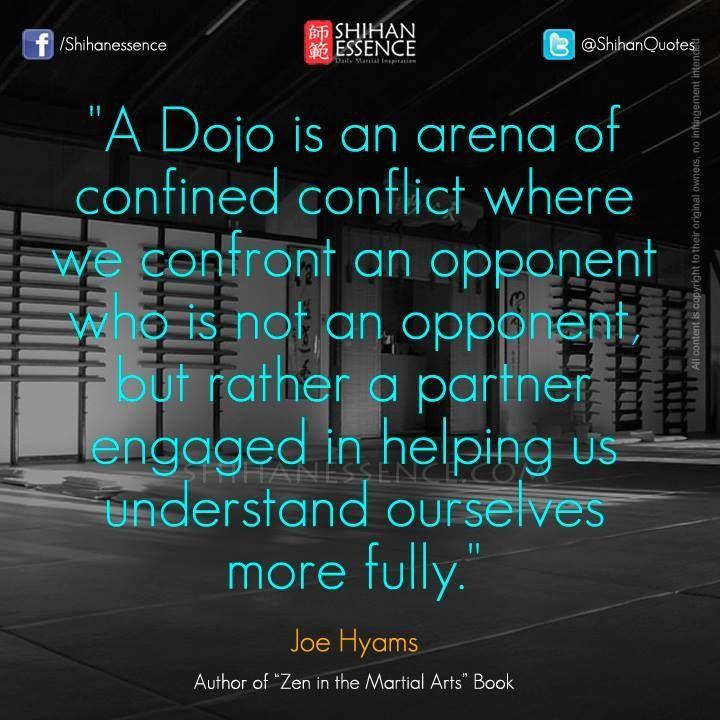 Dojo quote martial arts pinterest kampfkunst zitate