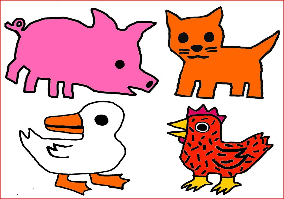 La petite poule rousse la classe des ps ms ecole - Coloriage ps maternelle ...