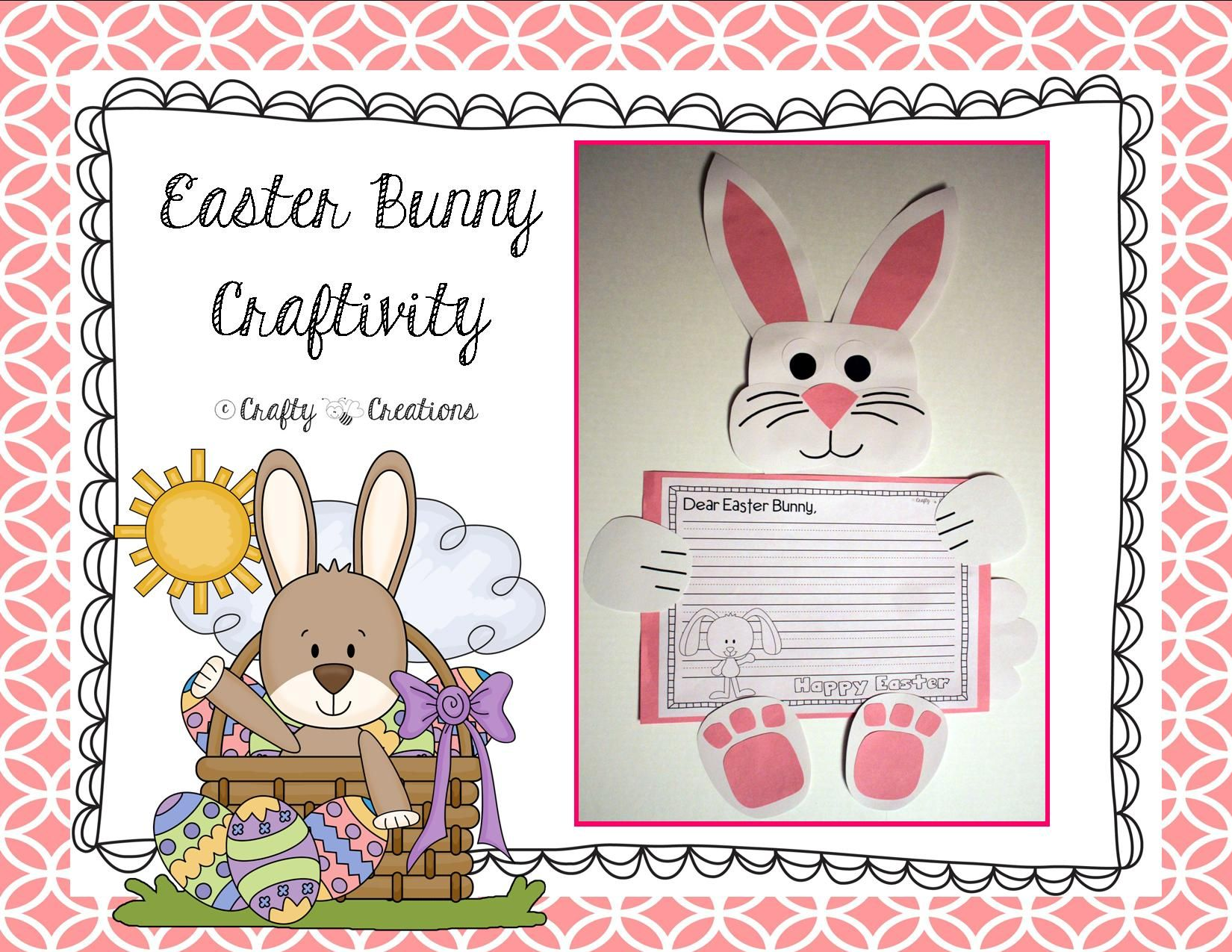 Easter Bunny Craft Dear Easter Bunny Writing Prompts