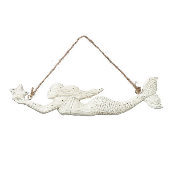 Mermaid Ornament Wall Hanger Decor