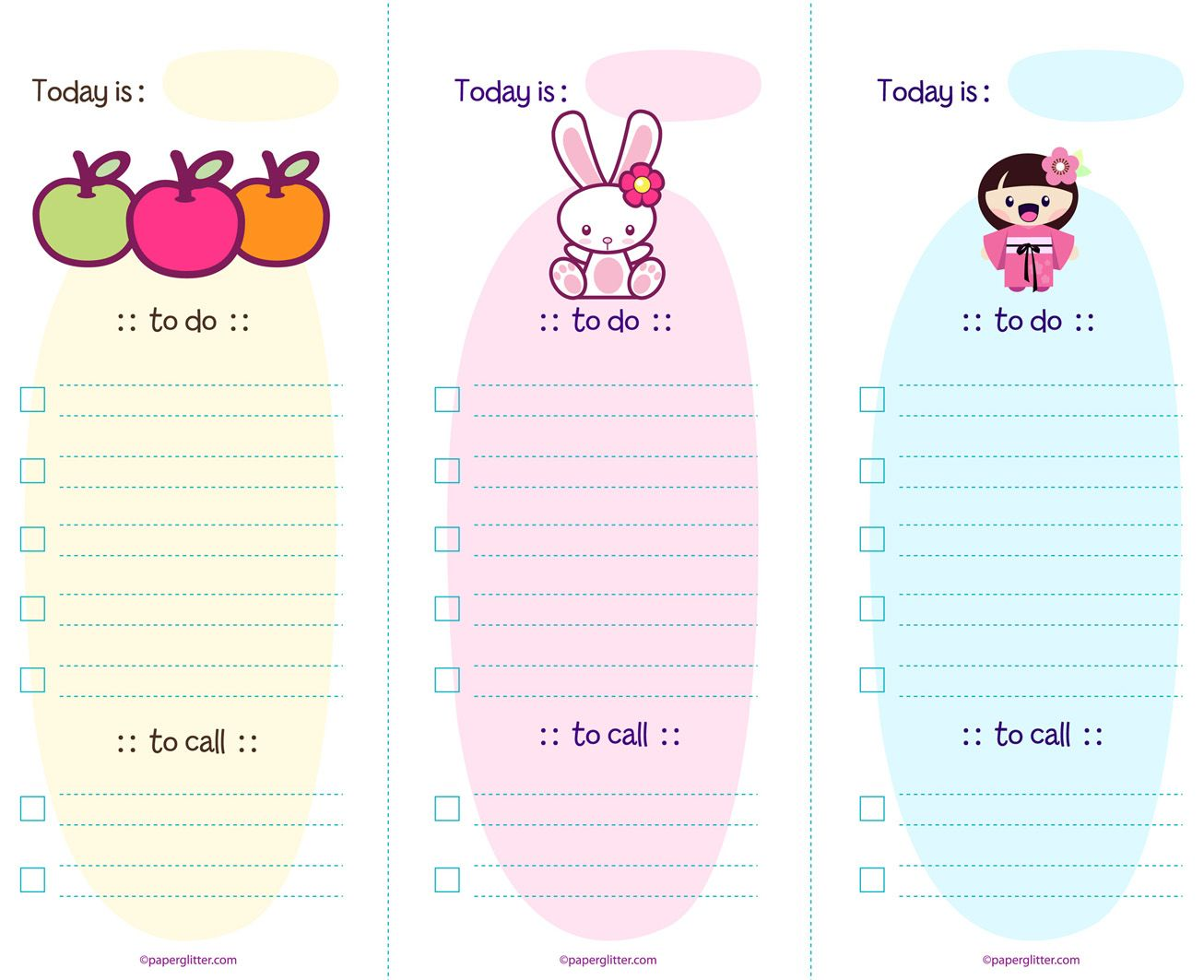 free cute printable to do list Do List Template – To Do List Template for Kids