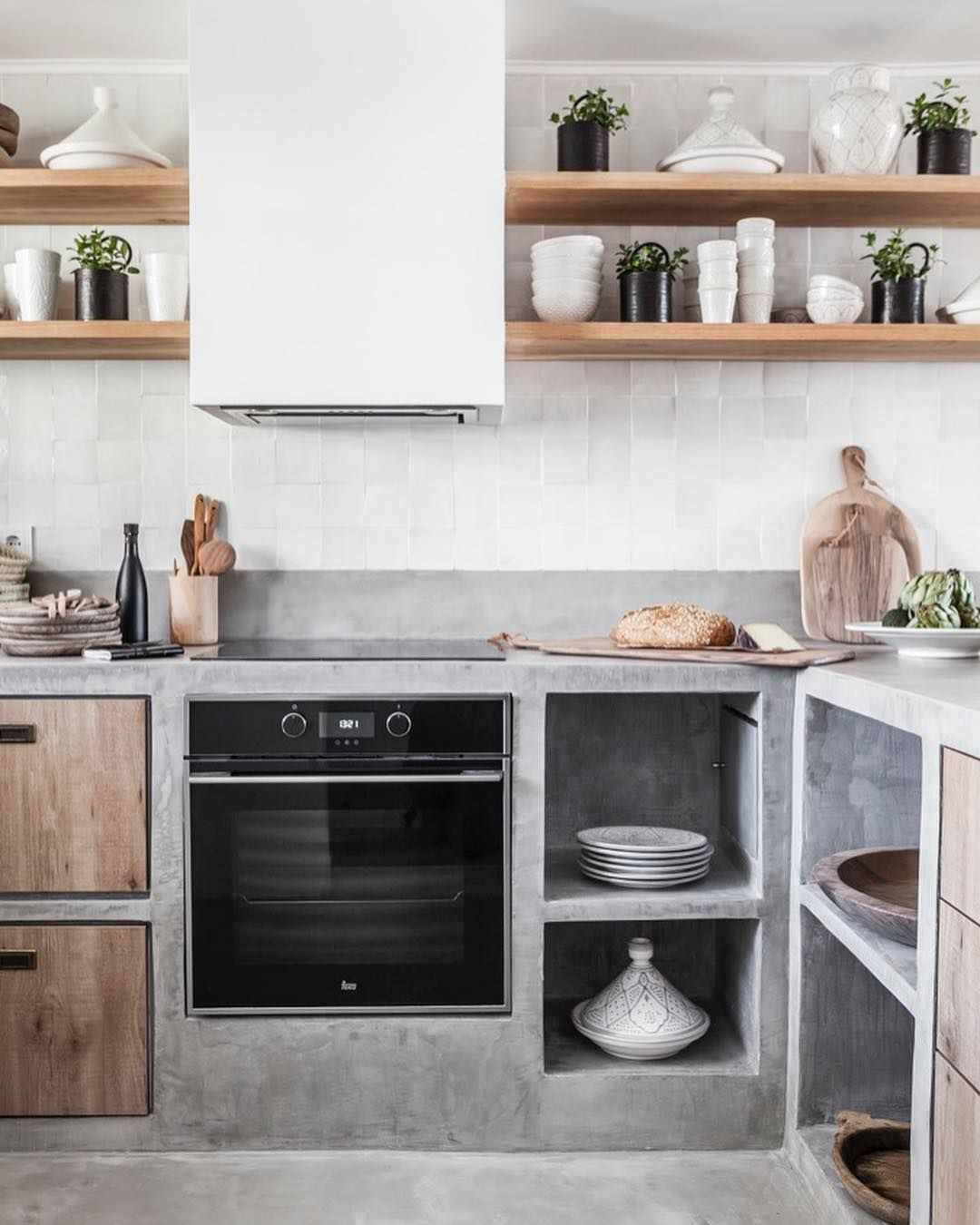 Zoco Home On Instagram Concrete In The Kitchen Can Be Gorgeous