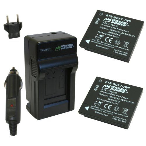 DMW-BCK7 BATTERY FOR Panasonic Lumix DMC-FS16 DMC-FS18 DMC-Fs22 DMC-FS35 FS37