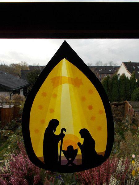 Pin Von Kohalmi Lucavirag Auf Education Basteln Weihnachten Fenster Fensterbilder Weihnachten Krippe Weihnachten