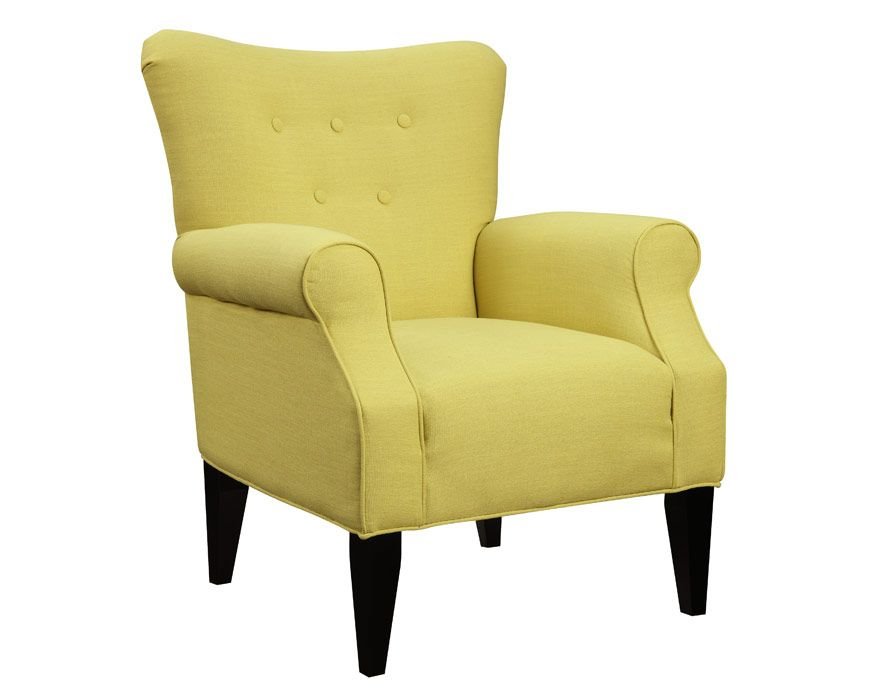 Accent Chair U360 05 01 Lydia Citrine, Furniture Factory Direct Living Room Part 95
