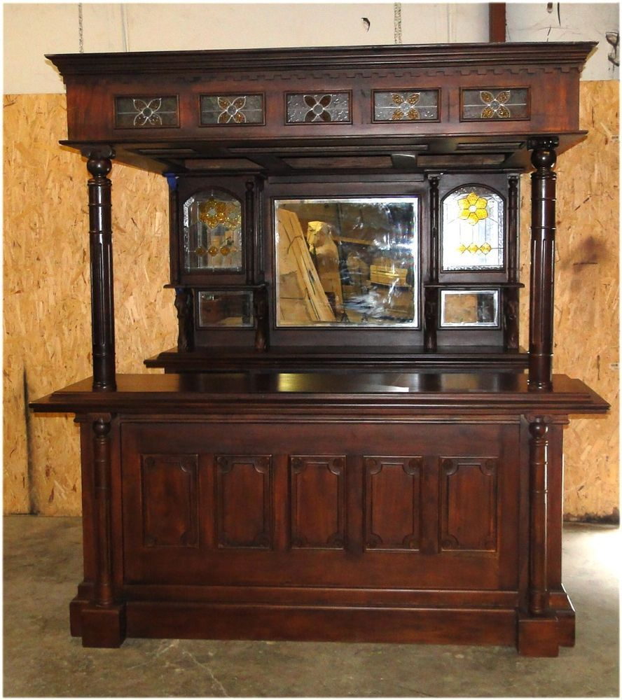 Fitzpatrick Irish Mahogany Home BAR FURNITURE tavern pub