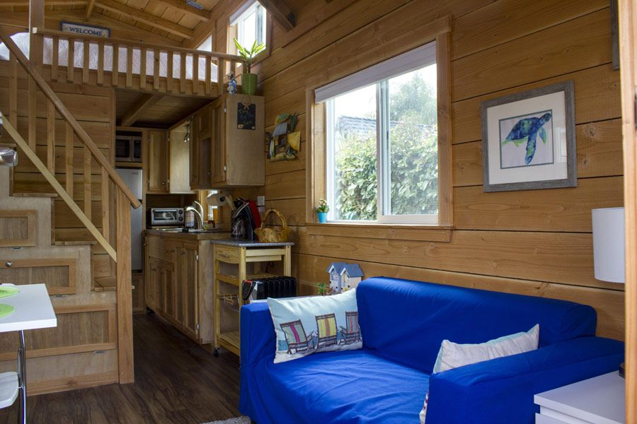 A 200 Square Feet Tiny House On Wheels In San Diego, California. Designed By