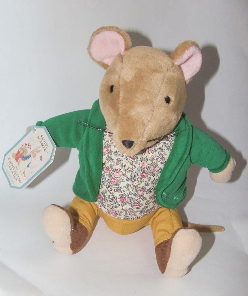 Eden Samuel Whiskers Mouse Beatrix Potter Plush Stuffed Animal Peter Rabbit Tag Plush Stuffed Animals Beatrix Potter Whiskers [ 1000 x 837 Pixel ]