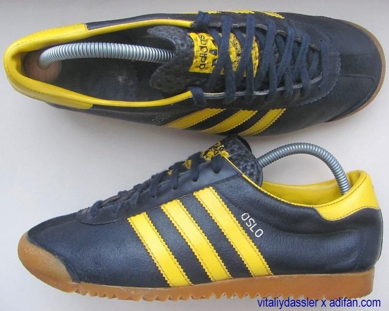 Adidas Oslo. Made in Yugoslavia. Years: 70s. Type: Training