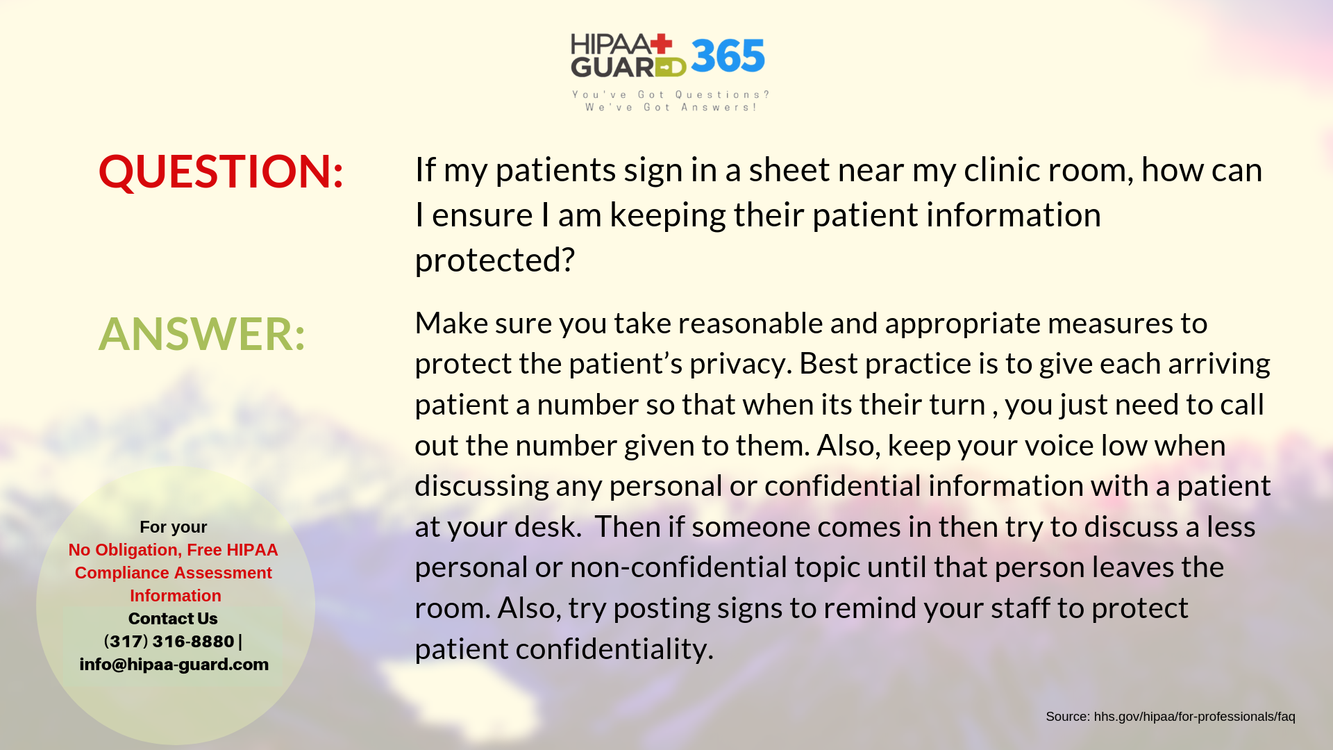 how your patient s sign in sheets and medical discussions be hipaa