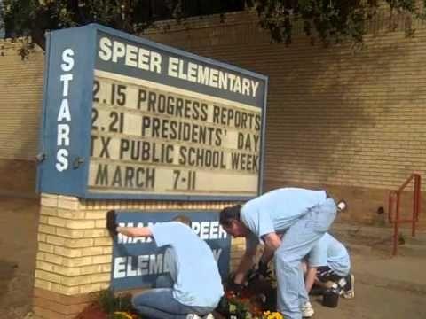 Beautifying Speer Elementary!  Rebuilding Together Greater Dallas  http://www.rebuildingdallas.org