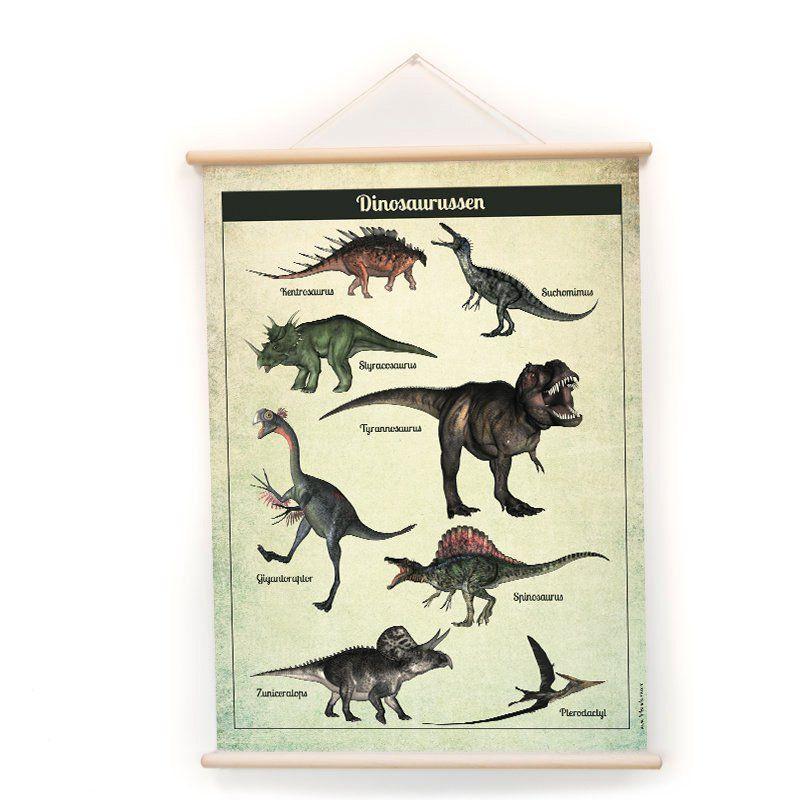 Schoolplaat - Dino's (dubbelzijdig)