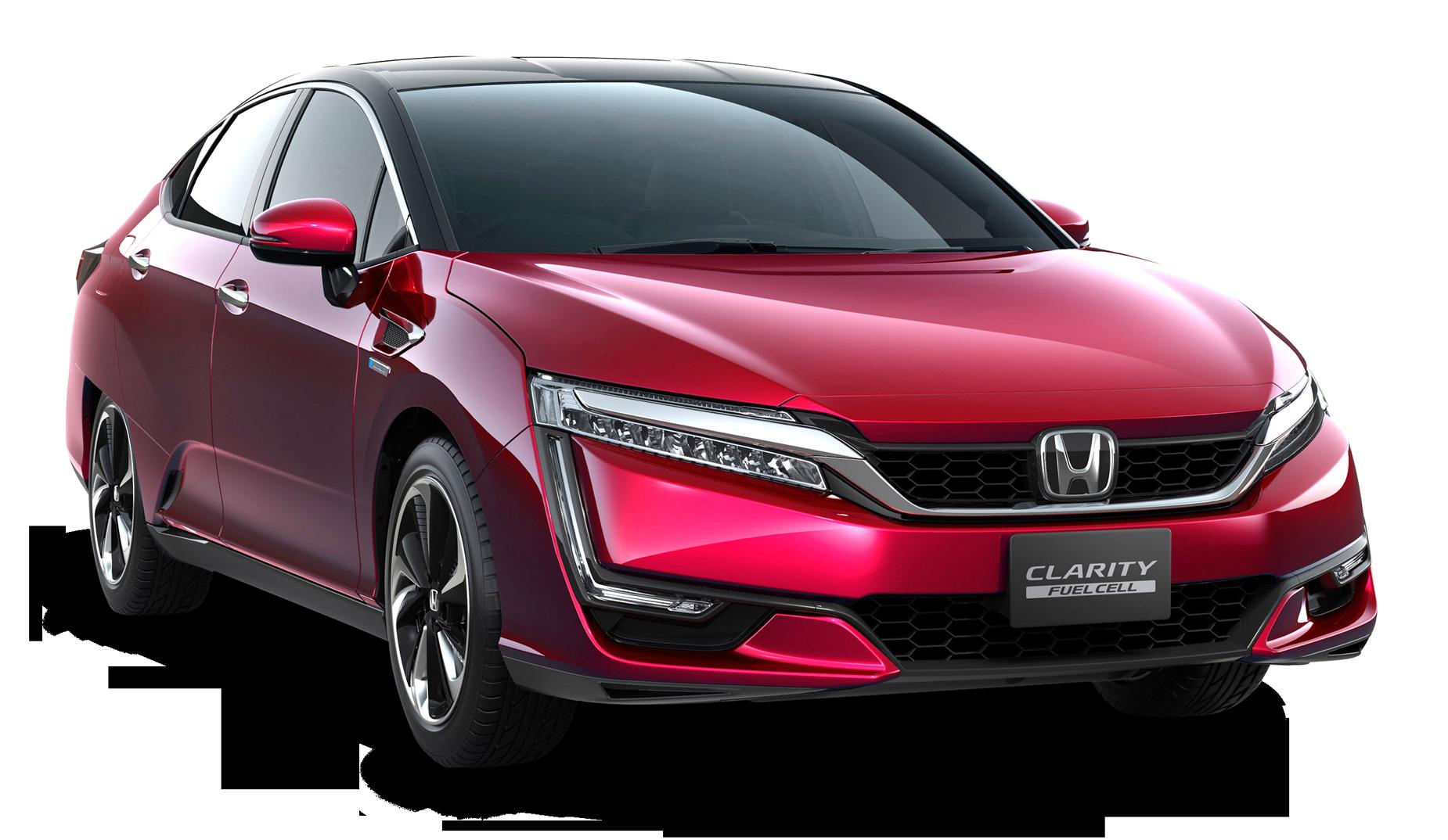 Red Honda Clarity Car Hybrid Car Fuel Cell Cars Honda Cars