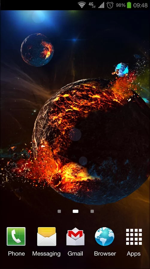 Deep Space 3D Pro lwp v1.0 apk Requirements2.2 and up
