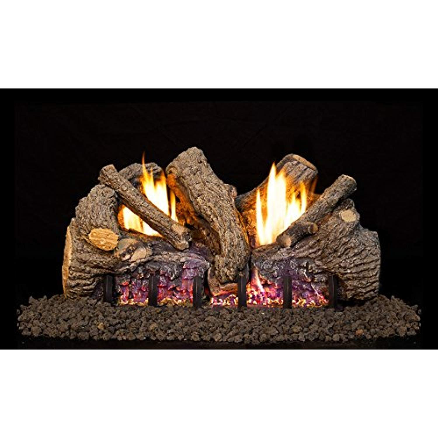 Peterson Real Fyre 30inch Foothill Oak Log Set With Vent