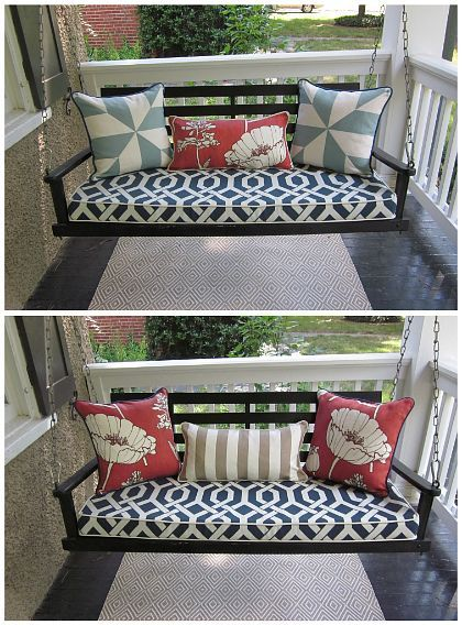 Nice Great Porch Swing Cushion 47 In Interior Designing Home Ideas With Porch Swing Cushion With Images Porch Swing Home Front Porch Swing