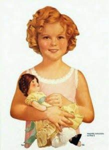 Professione Donna: La Paper Doll di Shirley Temple