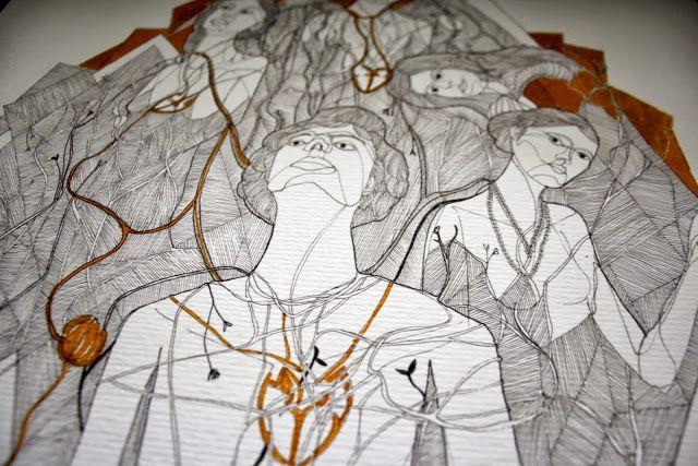 Illustration work of Marta Nunes